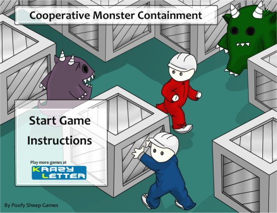 Co Op Monster Cont. 1 Player