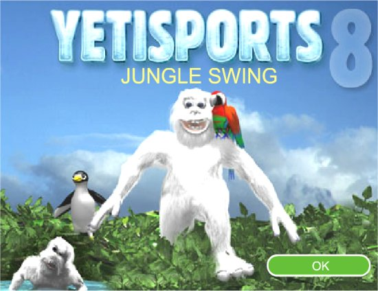 Yetisports 8 - Jungle Swing